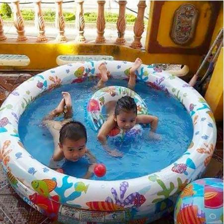 Bể Bơi - Phao Bơi 3 Chi Tiết Cho Bé