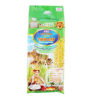 Gạo Tám thơm giống Thái Lan Bảo Minh túi 3kg