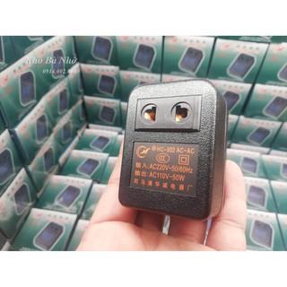 Bộ đổi nguồn 220V sang 110V dùng cho máy xông tinh dầu, máy đuổi muỗi, tôngđơ..