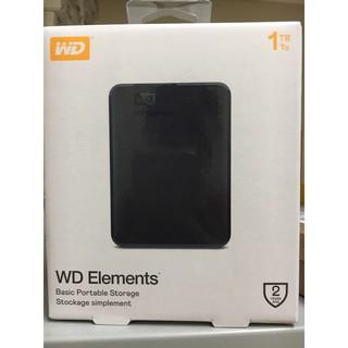Ổ Cứng WD Elements 1Tb 2.5 inch USB 3.0 Portable thumbnail