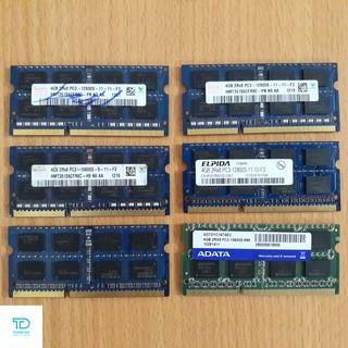 Ram Laptop DDR3 4Gb bus 1600 , 1333 - Bộ nhớ trong laptop DDR3