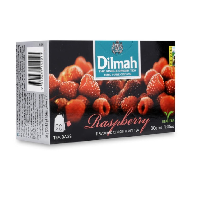 Trà túi lọc hương mâm xôi Dilmah 30g