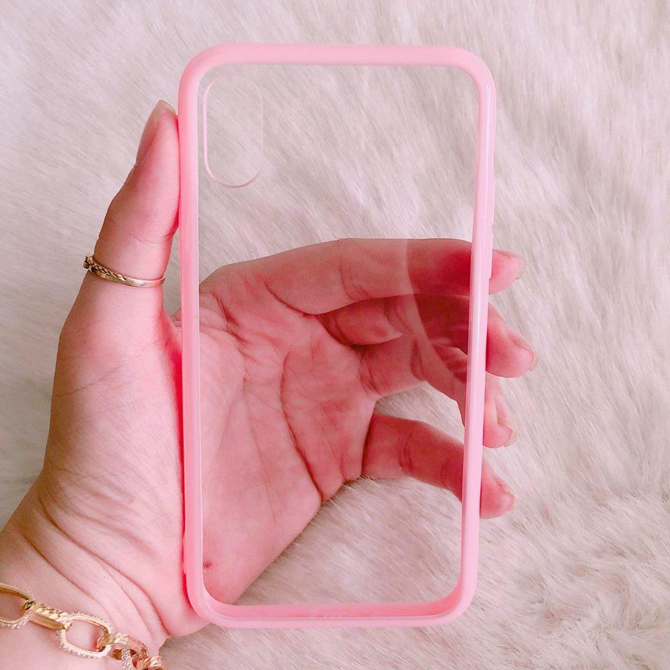 Ốp lưng iPhone X trong viền màu hot - 3006603 , 958474345 , 322_958474345 , 50000 , Op-lung-iPhone-X-trong-vien-mau-hot-322_958474345 , shopee.vn , Ốp lưng iPhone X trong viền màu hot