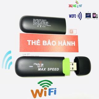 (Siêu phẩm mới) Thiết bị usb 3g 4g phát sóng wifi di động, đa mạng, sóng cực ổn định