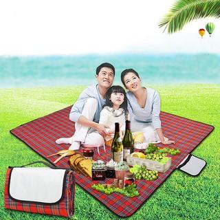 [BẢO HÀNH] Thảm dã ngoại du lịch đi biển, bạt trải picnic cắm trại đi phượt kết hợp tập yoga gấp gọn sọc kẻ caro giá rẻ