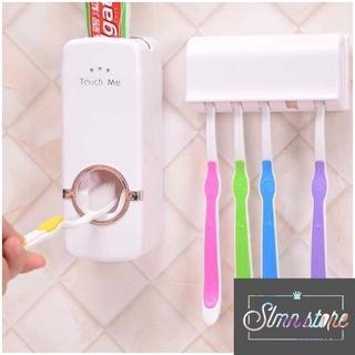 Dụng cụ lấy kem đánh răng kèm giá treo bàn chảy tiện lợi Touch me. SD3-NK-TouchMe