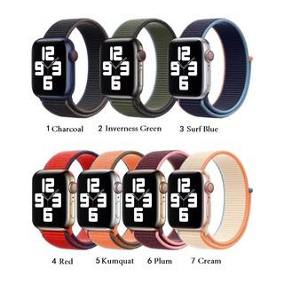 Dây đeo dệt nylon mềm thoáng khí cho Apple watch 38/40mm 42/44mm iWatch dòng SE 6/5/4/3/2/1