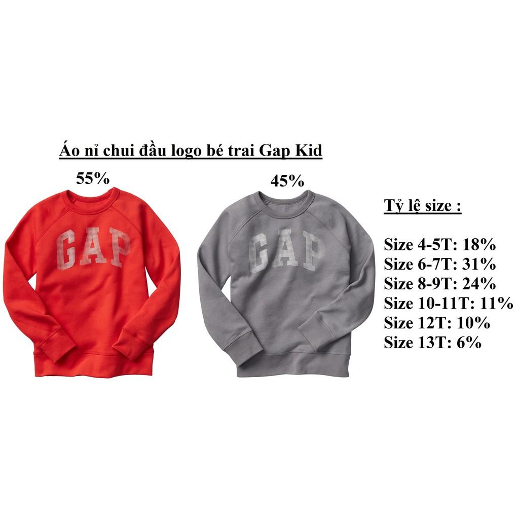 Áo nỉ chui đầu logo bé trai Gap Kid ( sỉ ri 15 ) - msp : 1450 - 3478566 , 1315494229 , 322_1315494229 , 1305000 , Ao-ni-chui-dau-logo-be-trai-Gap-Kid-si-ri-15-msp-1450-322_1315494229 , shopee.vn , Áo nỉ chui đầu logo bé trai Gap Kid ( sỉ ri 15 ) - msp : 1450