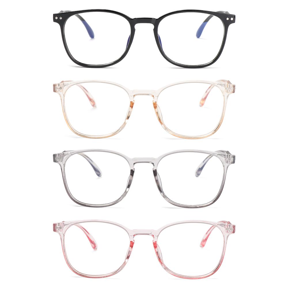 SOFTNESS Women Anti-blue Light Glasses Vision Care Computer Goggles Optical Eyewear Oversized Fashion Classic Retro Eyeglasses