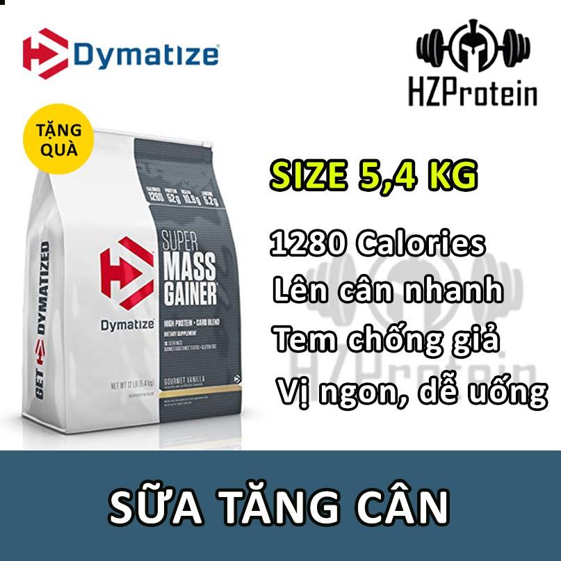 SUPER MASS GAINER - SỮA TĂNG CÂN 12LB