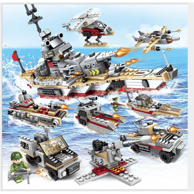 Lego xếp hình Wheat Battleship