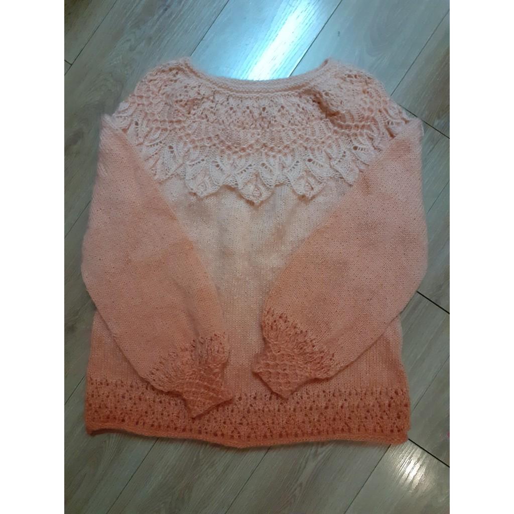 Áo len đan tay