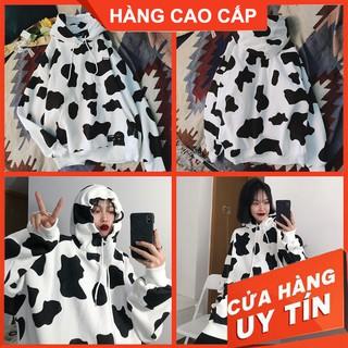 Áo Nỉ Hoodie Nữ Nam Bò Sữa Cao Cấp, Khoác Thun Nỉ – GUDI Chuyên Hàng Cao Cấp