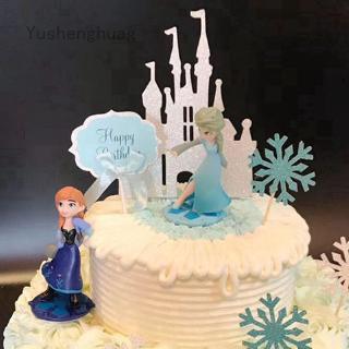 Set Mô Hình Nhân Vật Elsa Và Anna Trong Phim Frozen
