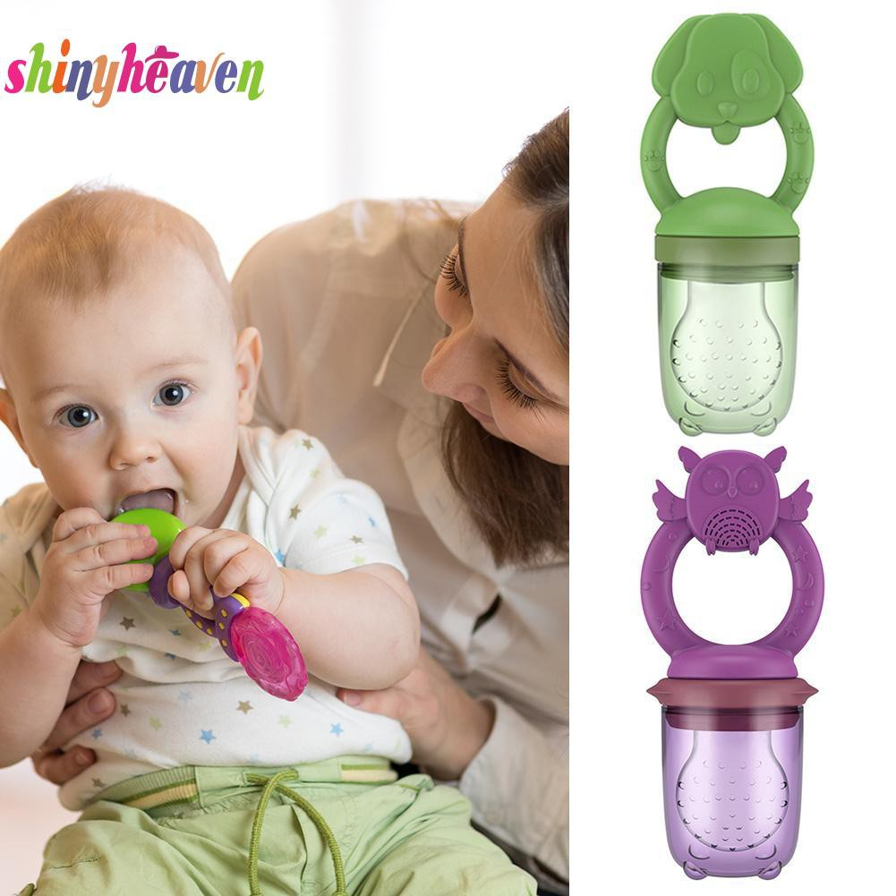 【Yuiiki】Baby Silicone Teething Lovely Pacifier Toys Food Feeder