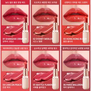 Son môi Merbliss City Holic Lip Rouge màu cực đẹp sang trọng 2