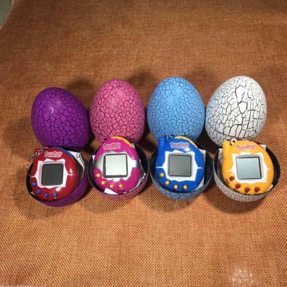 Quả trứng đựng máy nuôi thú ảo cổ điển cho bé Ođậu nành