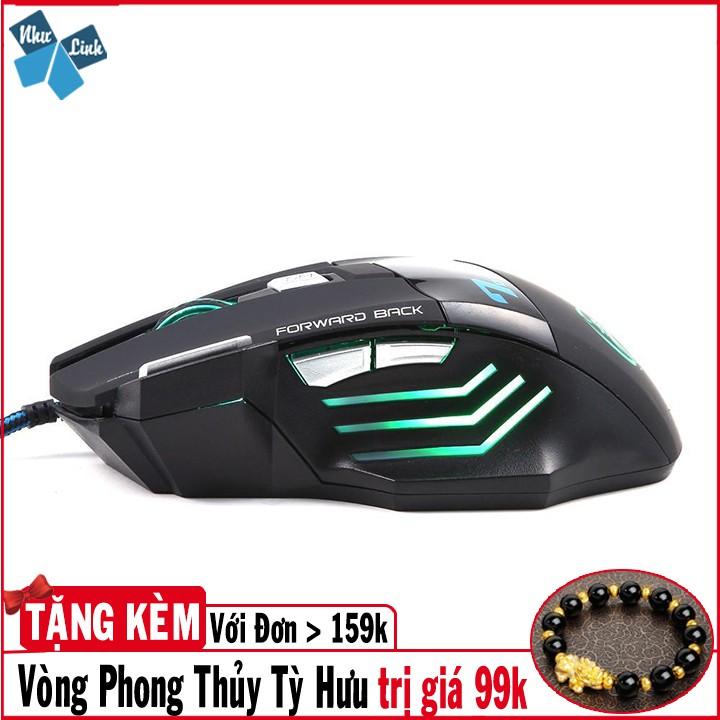 [Hàng Hot]Chuột không dây chơi game laptop chuyên dụng cao cấp siêu bền Estone X7 Giá chỉ 219.900₫