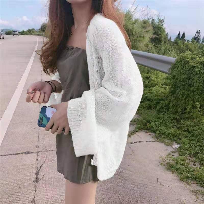 [Mã WA9910 giảm 10k đơn 99k] (Có sẵn)Áo khoác len mỏng nhiều màu