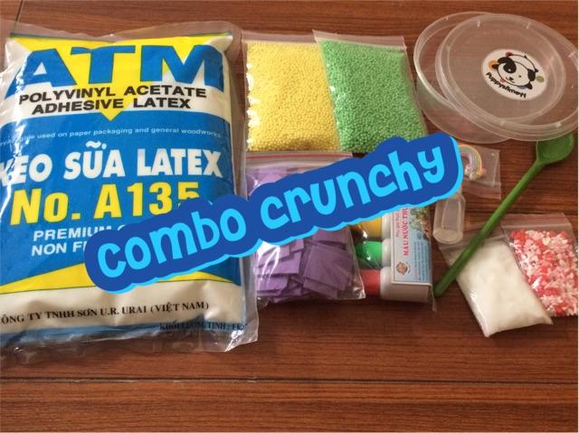Combo nguyên liệu làm Slime