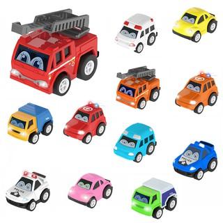 Xe Đồ Chơi ô tô màu sắc bằng sắt chạy đà, giao mẫu ngẫu nhiên 5