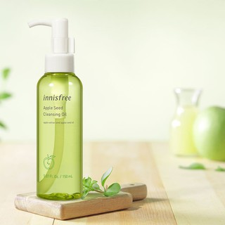 Dầu tẩy trang Innisfree Refreshing Cleansing Oil With Apple Seed 150ml