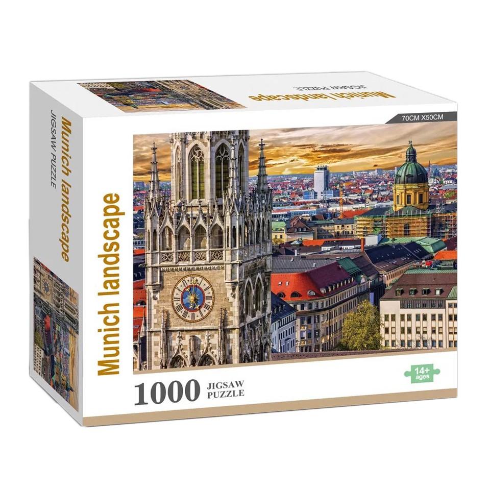 Bộ đồ chơi xếp hình phong cảnh thành phố 1000 mảnh cao cấp