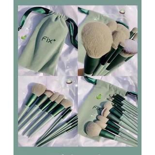 Bộ cọ trang điểm cá nhânFix - 13 cây - đựng trong túi rút nhung ( SIÊU HOTT) thumbnail