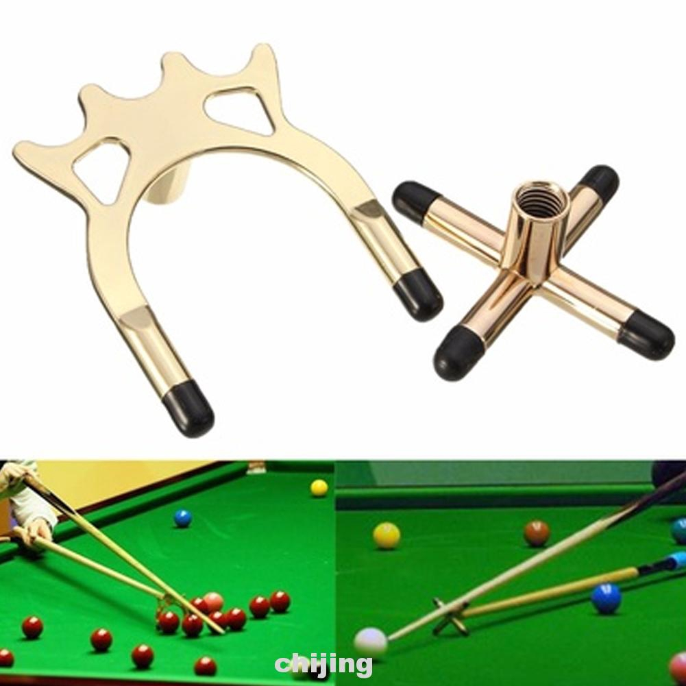 Fixed Sports For Snooker Space Saving Wear Resistant Support Metal Cue Rack Set