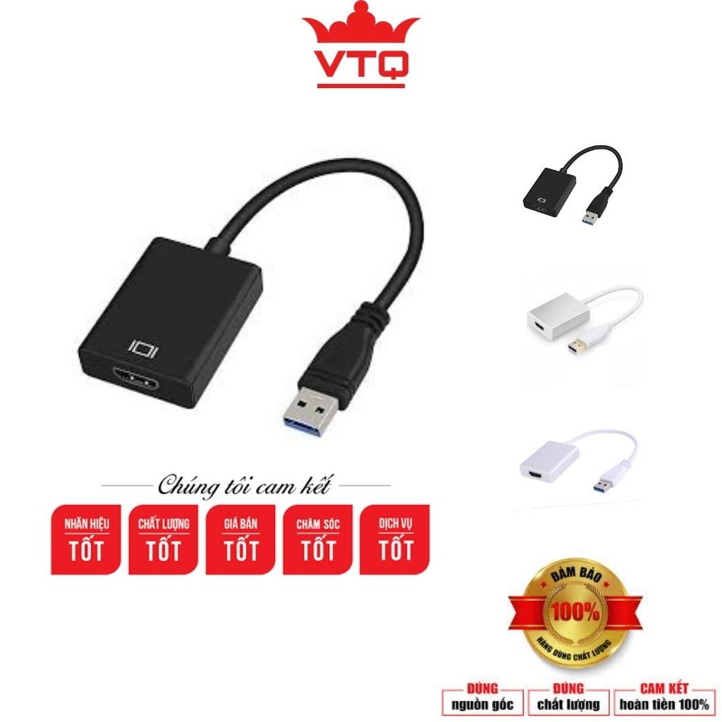 Cáp chuyển đổi USB 3.0 sang HDMI hàng cao cấp.bảo hành 6 tháng.shopphukienvtq