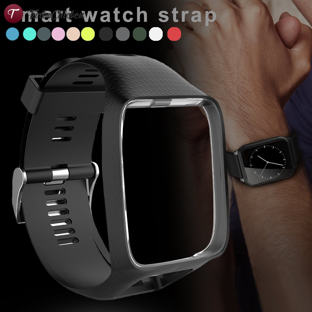 T⋄ Watchband Watch Strap Silicone Replacement Wrist Band Belt for TomTom 2 3 Series