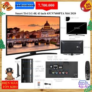 Smart Tivi LG 4K 43 inch 43UN7400PTA Mới 2020