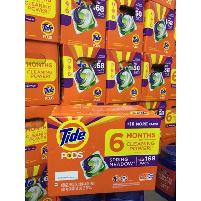 Viên giặt tide pods 3in1 của Mỹ- bịch 42 viên( mẫu mới)