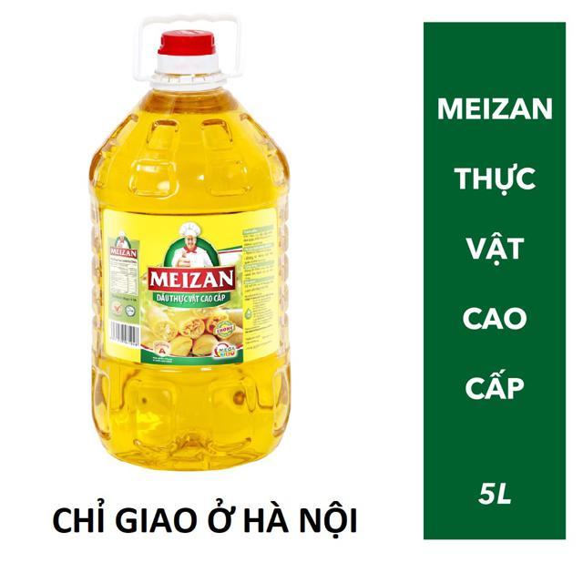 [CHỈ GIAO Ở HÀ NỘI] Dầu ăn Meizan 5L