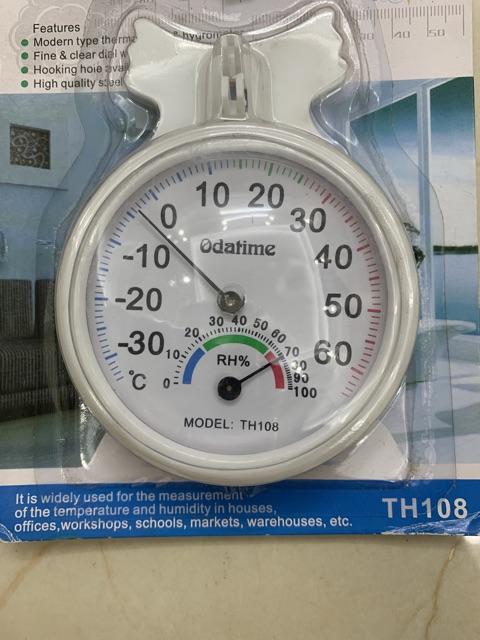 Nhiệt ẩm kế đo nhiệt độ phòng, đo độ ẩm