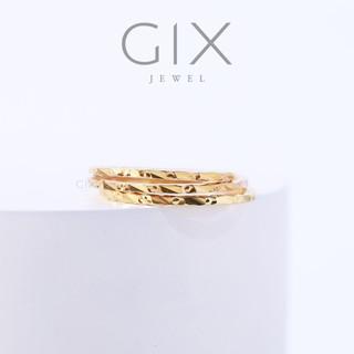 Nhẫn bạc nữ thời trang hoạ tiết sắc sảo Gix Jewel N85 thumbnail