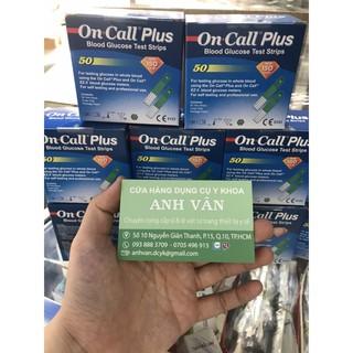 Que thử đường huyết On Call Plus ( 50 que )
