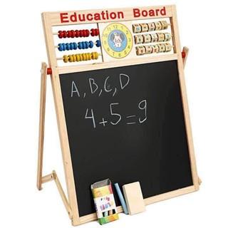 Bảng nam châm edu cho bé – Bảng từ 2 mặt Education Board và bộ chữ số cho bé