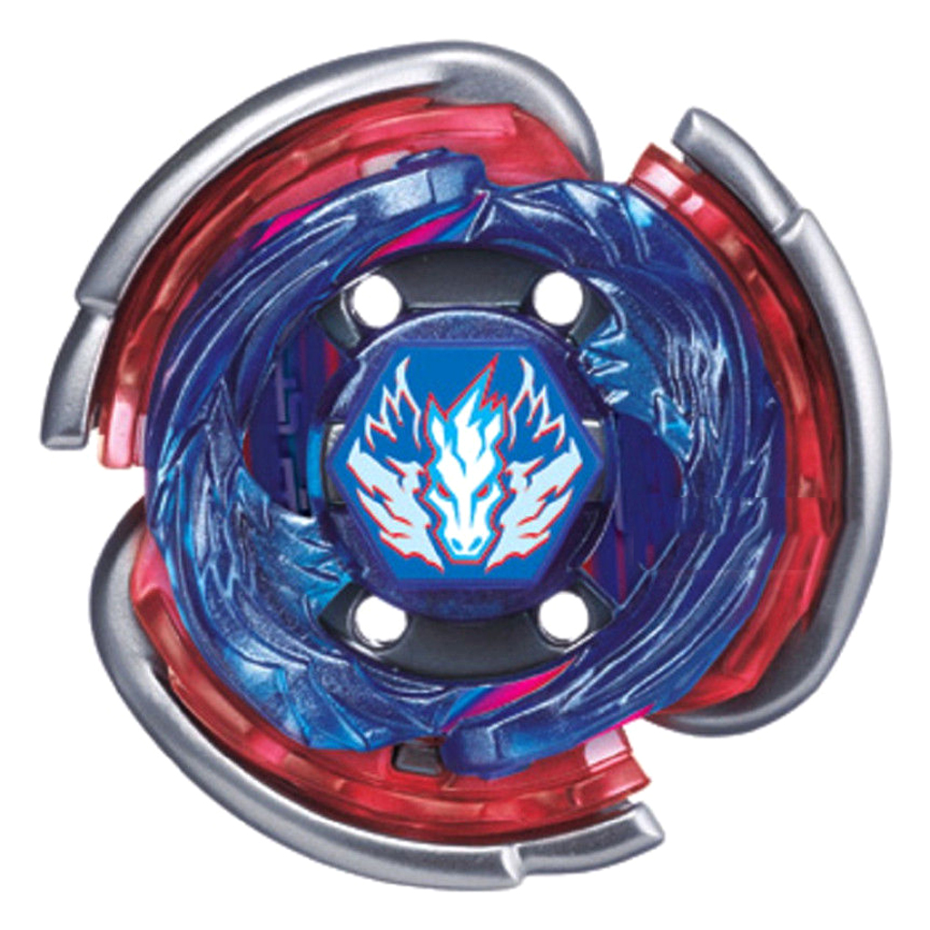 Beyblade LR Power String Launcher Grip & Metal Fusion 4D Spinning Top BB105