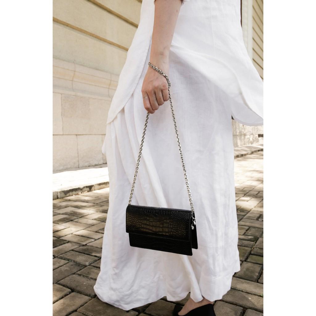 Túi xách Floralpunk Claire Bag màu đen