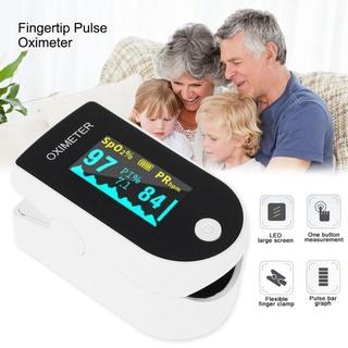 Máy đo Nồng độ Oxy Trong Máu Và Nhịp Tim Finger Pulse Oximeter thumbnail
