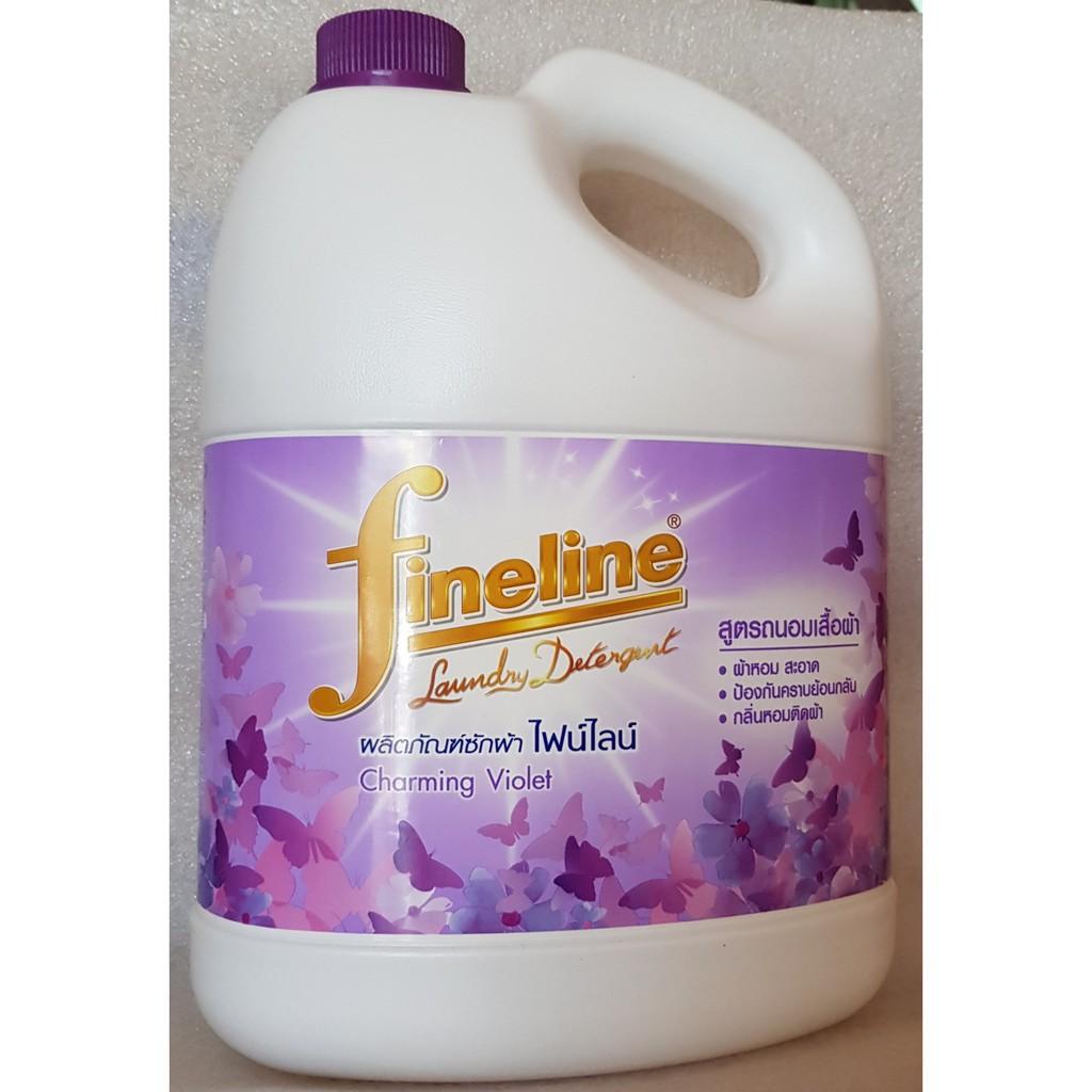 comfor 2 can nước giặt fineline màu tím