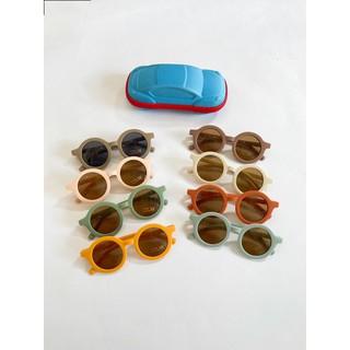 Kính mát tròn nhiều màu sắc cho bé Ranbabyroom thumbnail