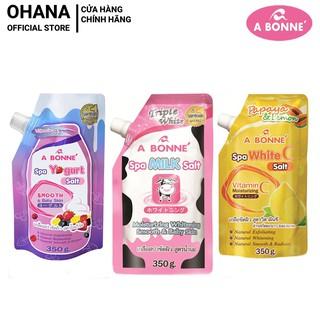 Muối tắm Sữa Bò Spa A Bonne Thái Lan 350g có vòi thumbnail