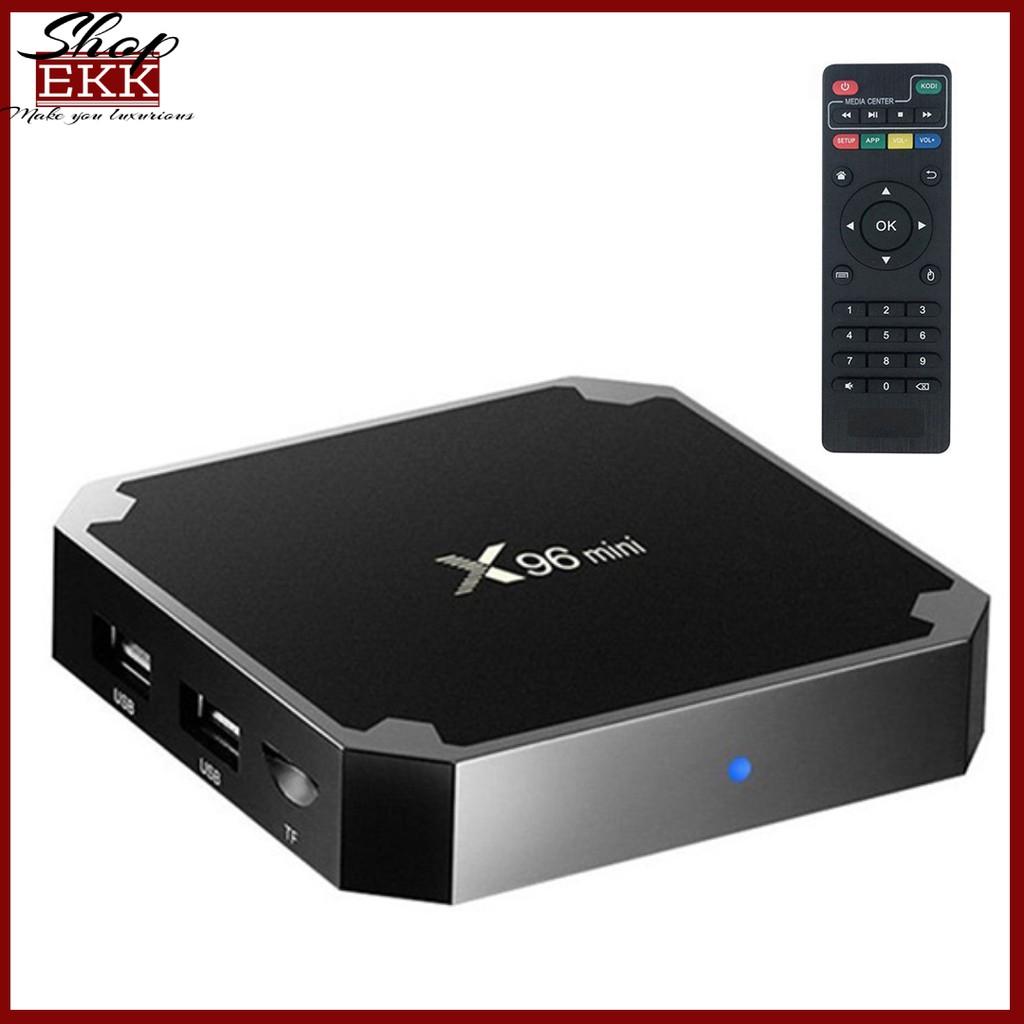 Android TV Box X96 Mini Hệ Điều Hành Ram 2GB- Rom 16Gb