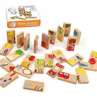 Bộ đồ chơi Domino 28 miếng ghép