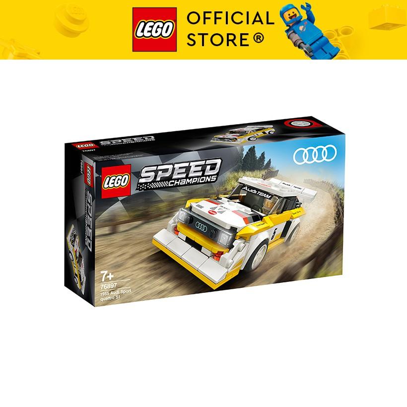 LEGO SPEED CHAMPIONS 76897 Siêu Xe 1985 Audi Sport Quattro S1 ( 250 Chi tiết)