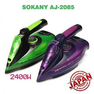 Bàn là hơi nước cầm tay không dây SONAKY 2400W có 5 chế độ ủi nhanh mọi loại vải