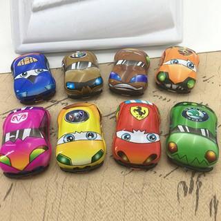 QYVN Cartoon plastic pull back cars model toys for kids gifts toys funny