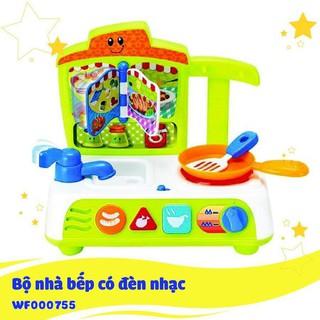 Bộ đồ chơi nhà bếp nấu ăn có đèn nhạc Winfun 0755